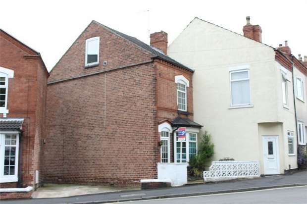 3 Bedrooms End Of Terrace House for sale in Wilmot Street, Ilkeston, Derbyshire