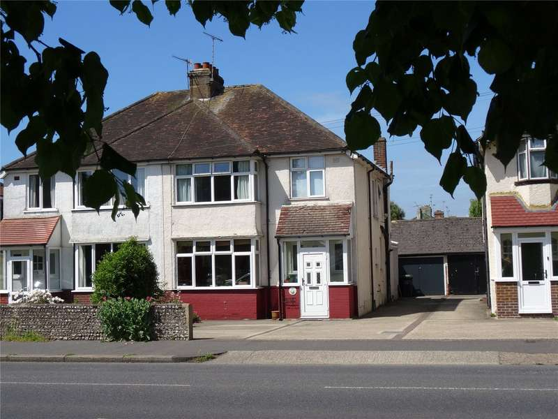 3 Bedrooms Semi Detached House for sale in Southfarm Road, Broadwater, Worthing, BN14
