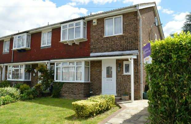 4 Bedrooms End Of Terrace House for sale in Huntsmoor Road, West Ewell