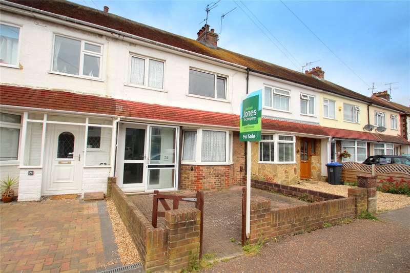 3 Bedrooms Terraced House for sale in Annweir Avenue, Lancing, West Sussex, BN15