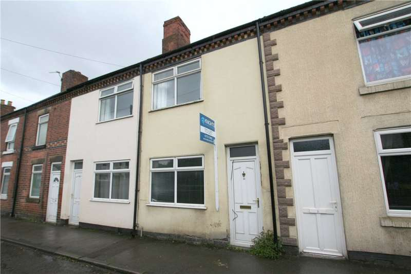 2 Bedrooms Terraced House for sale in Burnthouse Road, Heanor, Derbyshire, DE75