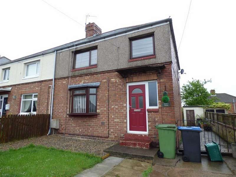 3 Bedrooms Semi Detached House for sale in 33, Derwent Road, Ferryhill