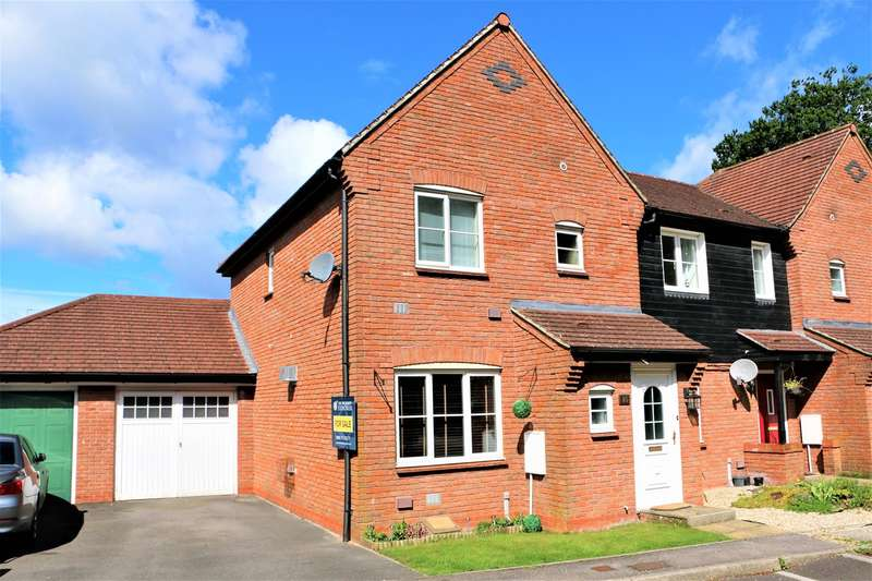 3 Bedrooms End Of Terrace House for sale in Breadels Field, Beggarwood, Basingstoke, RG22