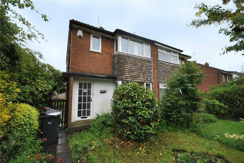 3 Bedrooms Semi Detached House for sale in Tinshill Lane, Cookridge, Leeds, West Yorkshire