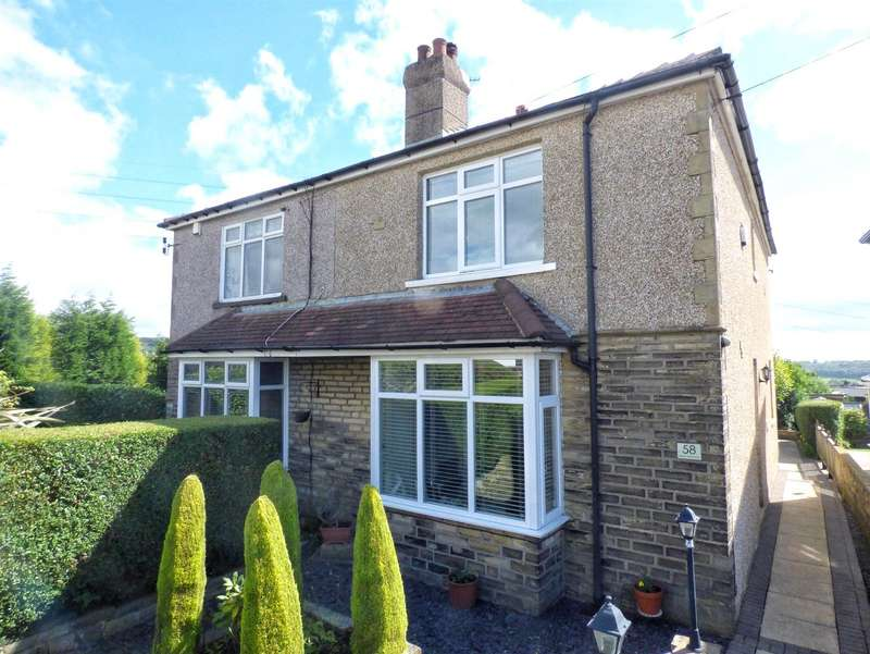 3 Bedrooms Semi Detached House for sale in Horley Green Road, Horley Green, HALIFAX, West Yorkshire, HX3
