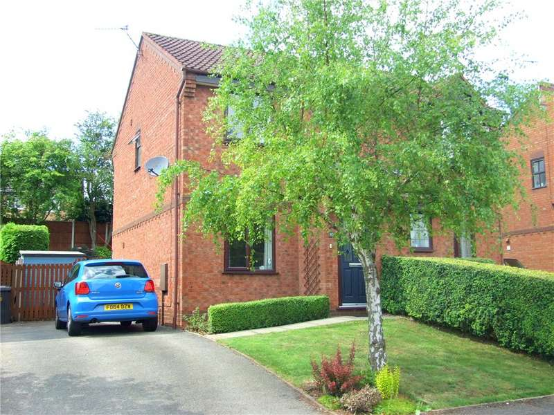 2 Bedrooms Semi Detached House for sale in Fiskerton Way, Oakwood, Derby, Derbyshire, DE21