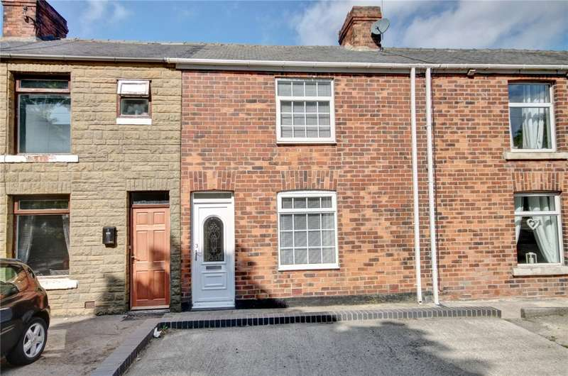 2 Bedrooms Terraced House for sale in Bannerman Terrace, Sherburn Hill, Durham, DH6