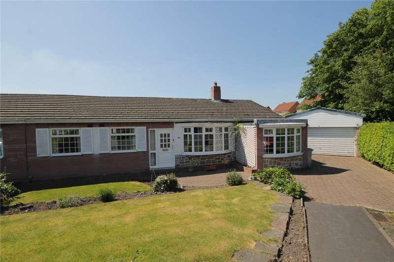 2 Bedrooms Semi Detached Bungalow for sale in Causey Drive, Stanley, Durham, DH9