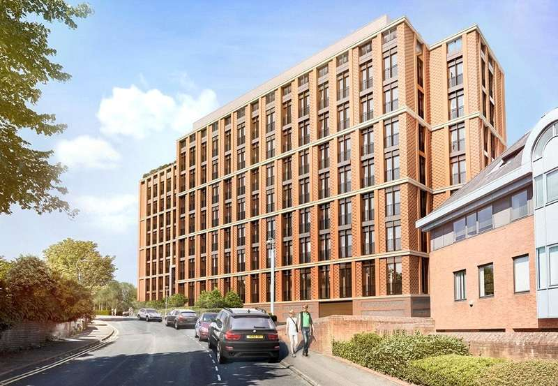 1 Bedroom Flat for sale in Ziggurat House, Grosvenor Road, St Albans, AL1