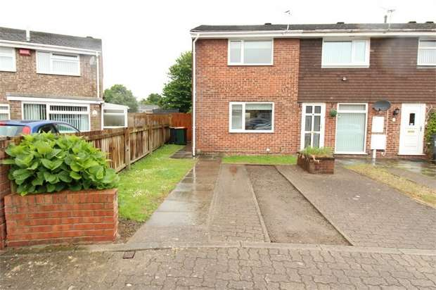 2 Bedrooms End Of Terrace House for sale in Armstrong Close, NEWPORT