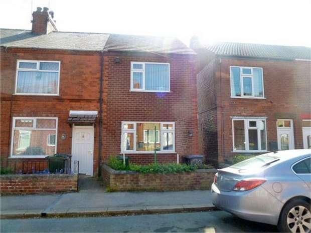 2 Bedrooms End Of Terrace House for sale in Victoria Street, Dinnington, Sheffield, South Yorkshire