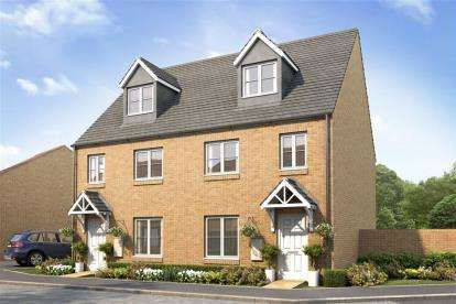 3 Bedrooms Semi Detached House for sale in Longford Park, Oxford Road, Bodicote, Banbury