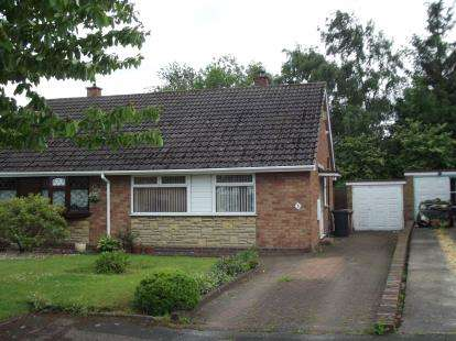 2 Bedrooms Bungalow for sale in Blandford Gardens, Burntwood, Staffordshire