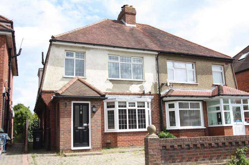 3 Bedrooms Semi Detached House for sale in Village Road, Alverstoke, Gosport PO12