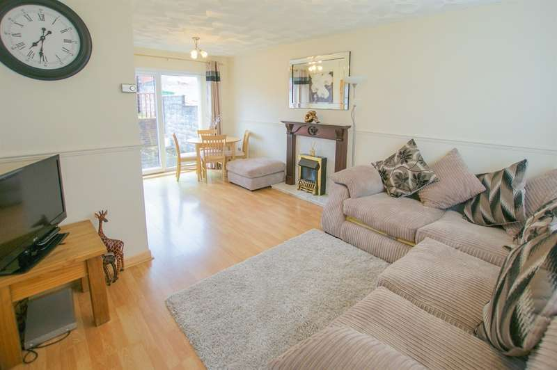 2 Bedrooms Terraced House for sale in Heol Treferig, Beddau, Pontypridd