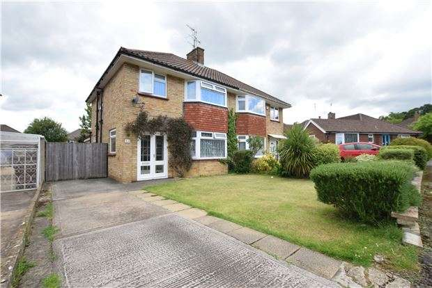3 Bedrooms Semi Detached House for sale in Wistley Road, Charlton Kings, Cheltenham, Glos, GL53 8NW