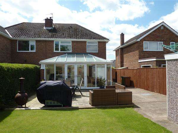 3 Bedrooms Semi Detached House for sale in EMFIELD ROAD, SCARTHO, GRIMSBY