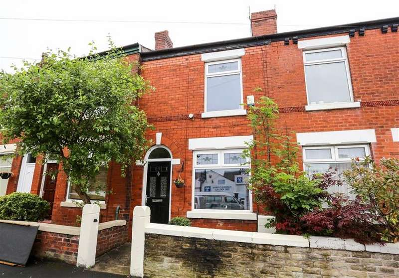 2 Bedrooms Terraced House for sale in Alldis Street, Great Moor, Stockport