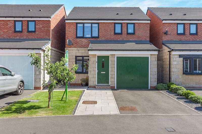 3 Bedrooms Detached House for sale in Derwent Water Drive, Stella Riverside, Blaydon-On-Tyne, NE21