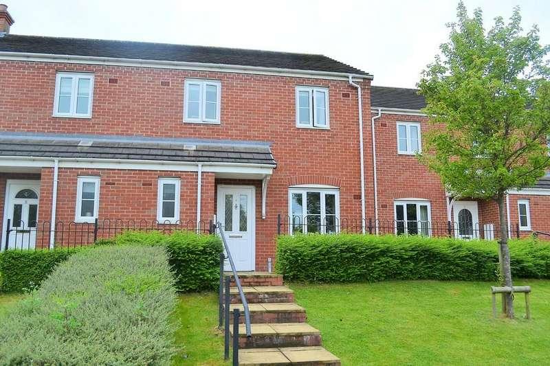 3 Bedrooms Semi Detached House for sale in Sanders Way, Lichfield