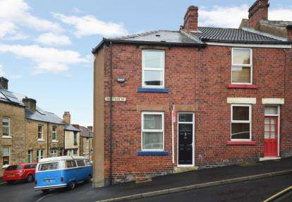 2 Bedrooms End Of Terrace House for sale in Ibbotson Road, Sheffield, South Yorkshire