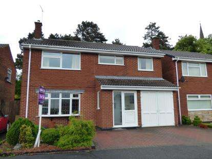 5 Bedrooms Detached House for sale in Redmoor Close, Burton On Trent, Staffordshire
