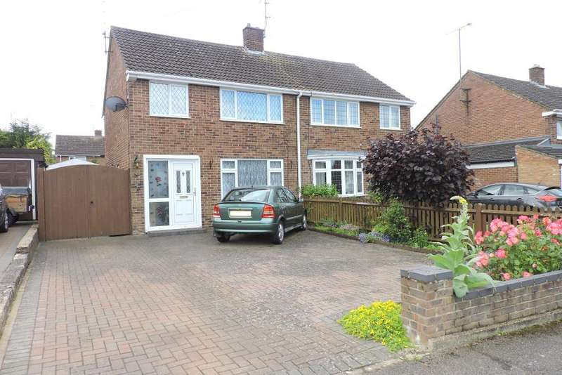3 Bedrooms Semi Detached House for sale in Mendip Way, Luton, Bedfordshire, LU3 3JL