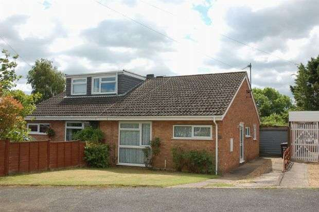 2 Bedrooms Semi Detached Bungalow for sale in Westlea Road, Sywell, Northampton NN6 0BY