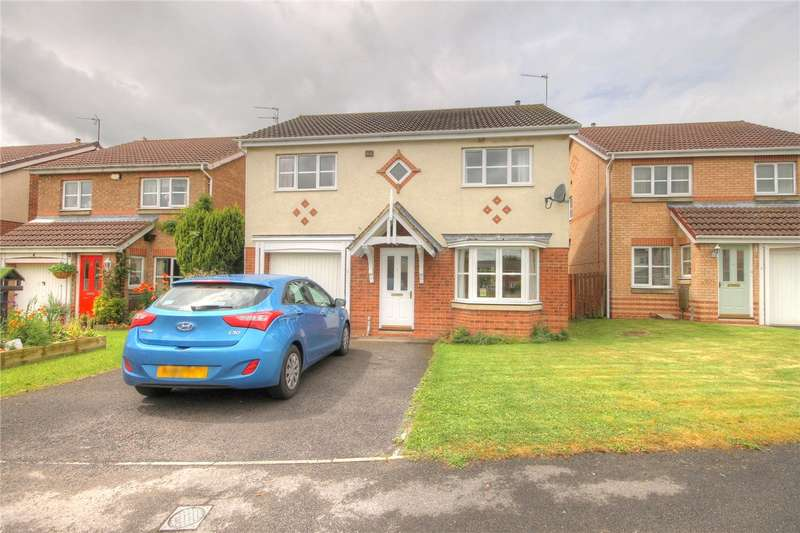 4 Bedrooms Detached House for sale in Trinity Gardens, Willington, Crook, DL15