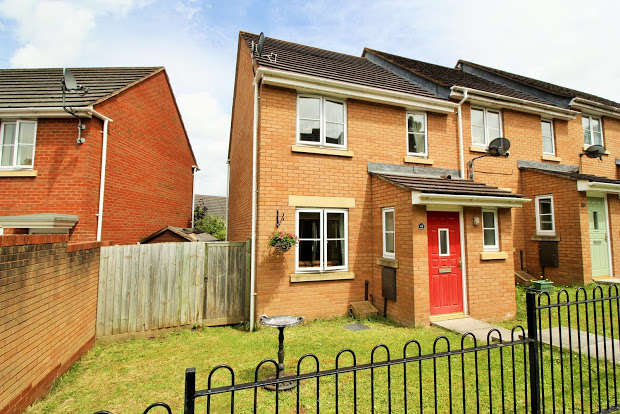 3 Bedrooms End Of Terrace House for sale in Powlesland Road, Exeter, EX2