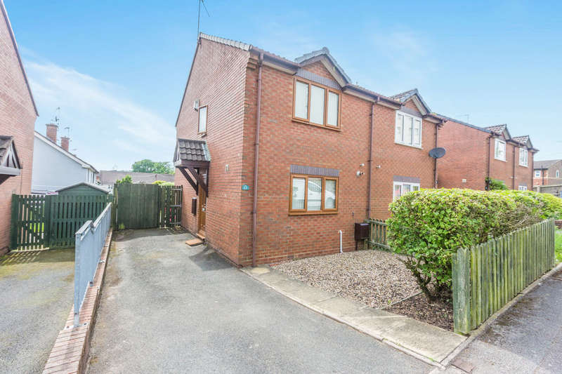 2 Bedrooms Semi Detached House for sale in Lea Walk, Rubery,Rednal, Birmingham, B45