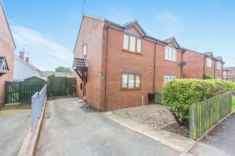 2 Bedrooms Semi Detached House for sale in Lea Walk, Rubery,Rednal, Birmingham, B45
