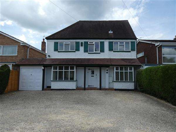 4 Bedrooms Detached House for sale in Haslucks Green Road, Majors Green, Solihull