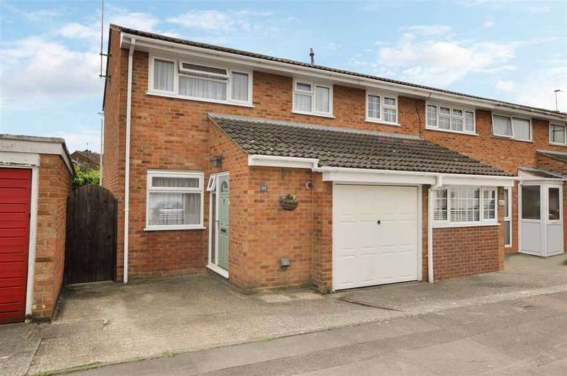 3 Bedrooms End Of Terrace House for sale in Lupin Drive, Chelmsford