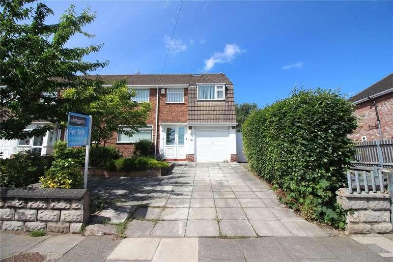 4 Bedrooms Semi Detached House for sale in Prenton Hall Road, Prenton, Merseyside, CH43