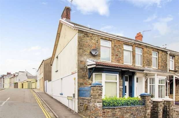 4 Bedrooms End Of Terrace House for sale in Monk Street, Aberdare, Mid Glamorgan