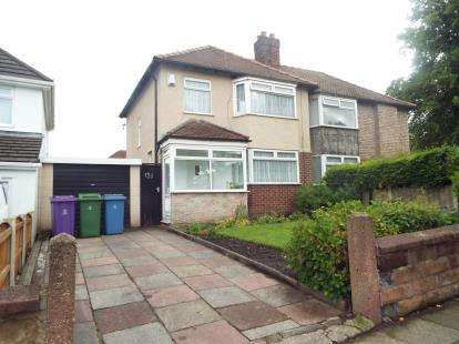 3 Bedrooms Semi Detached House for sale in Kings Drive, Woolton, Liverpool, Merseyside, L25