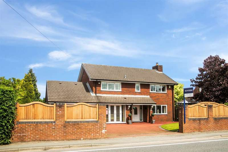 4 Bedrooms Detached House for sale in Newton Road, Lowton, Warrington, WA3 1JE