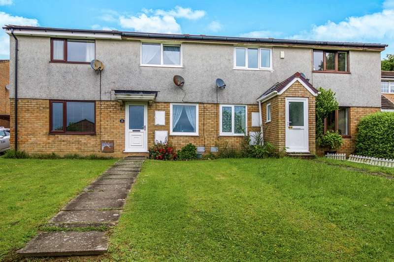 2 Bedrooms Terraced House for sale in Hedgemoor, Brackla, Bridgend