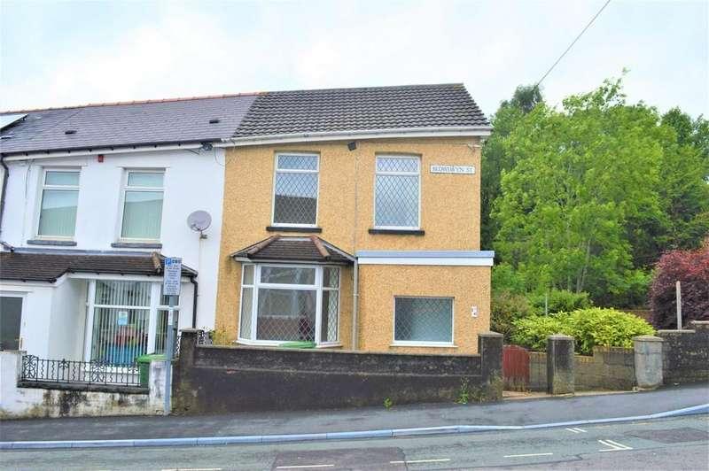 3 Bedrooms End Of Terrace House for sale in Bedwlwyn Street, Ystrad Mynach