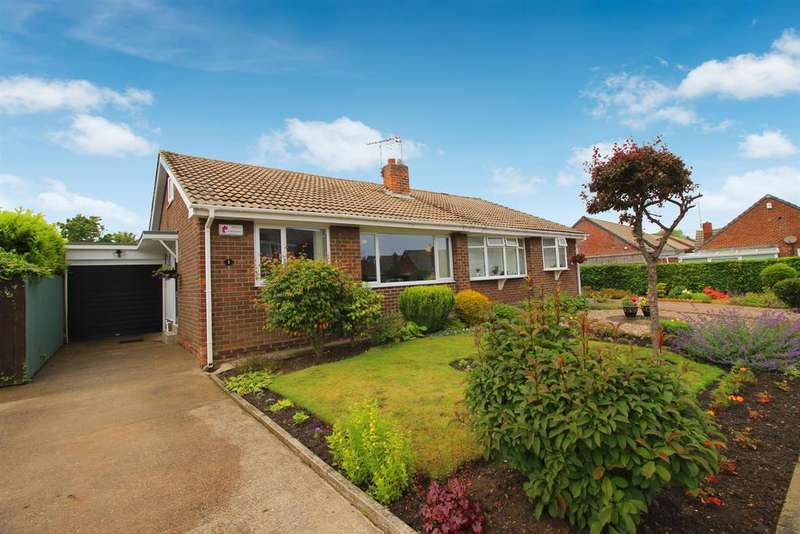 2 Bedrooms Semi Detached Bungalow for sale in Beamish Court, Whitley Bay