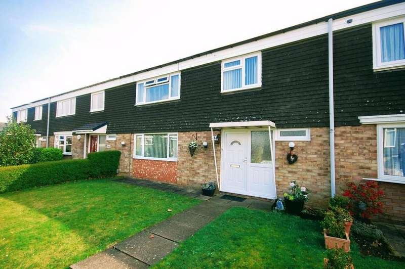 3 Bedrooms Terraced House for sale in Vardon Road, Stevenage