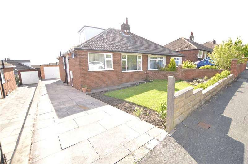 3 Bedrooms Semi Detached Bungalow for sale in Field End Road, Leeds, West Yorkshire