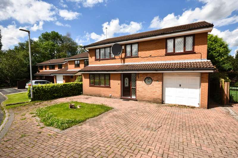 4 Bedrooms Detached House for sale in 26 EASBY CLOSE, POYNTON