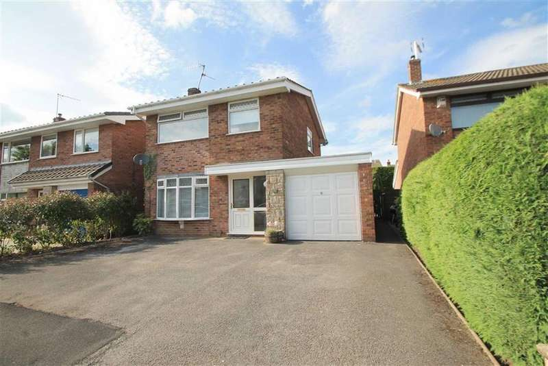 3 Bedrooms Detached House for sale in Ffordd Owain, Little Acton, Wrexham