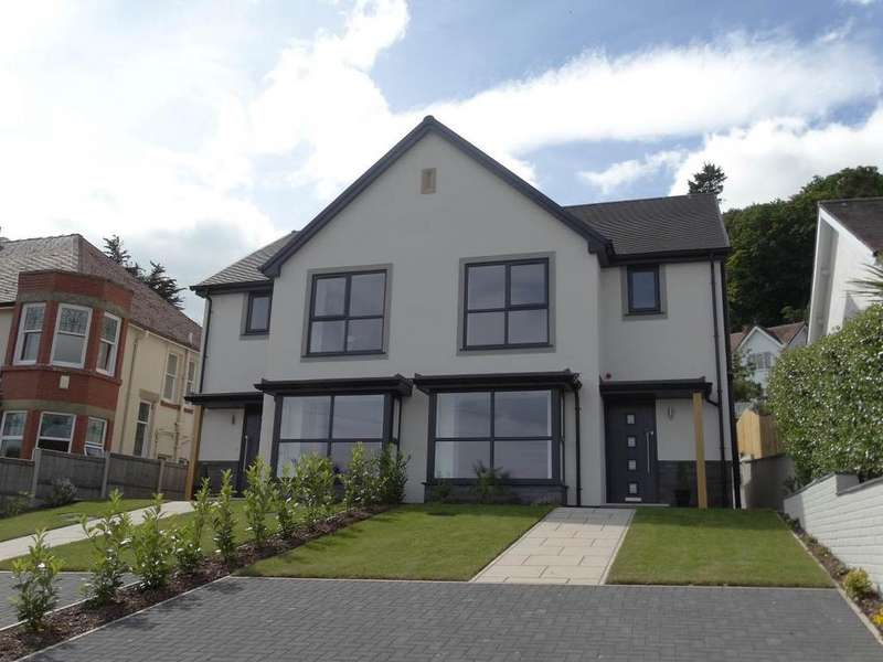 3 Bedrooms Semi Detached House for sale in The Outlook 69b Victoria Park West End, Colwyn Bay, LL29 7YY