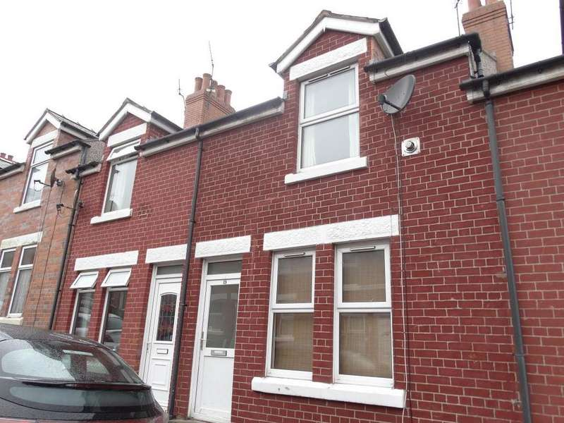 2 Bedrooms Terraced House for sale in 13 Agnes Grove, Colwyn Bay, LL29 7UA