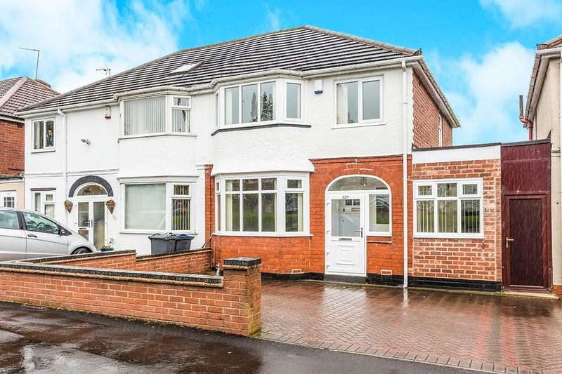 3 Bedrooms Semi Detached House for sale in Hagley Road West, Quinton, Birmingham, B32