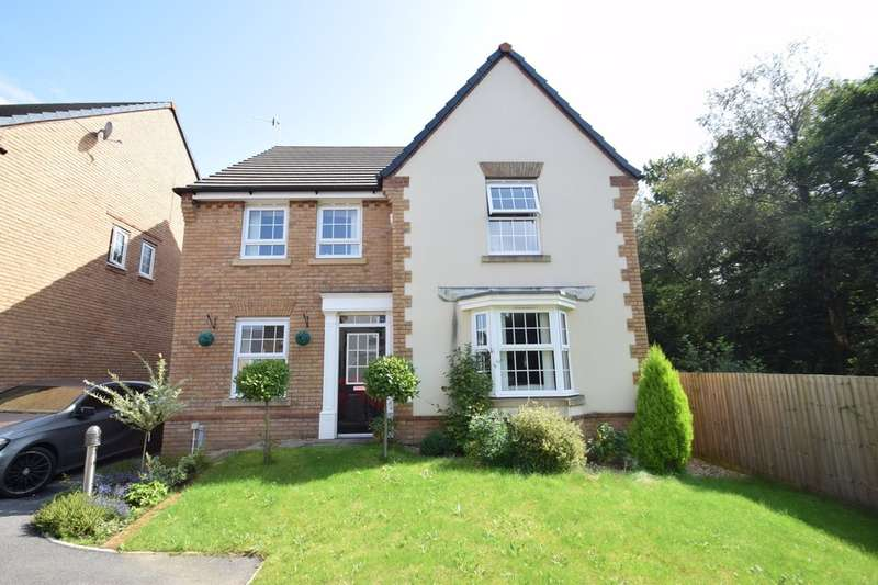 4 Bedrooms Detached House for sale in 115 Clos Tyn Y Coed, Sarn, Bridgend, Bridgend County Borough, CF32 9NQ.
