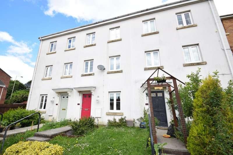 4 Bedrooms Town House for sale in 47 Longacres, Brackla, Bridgend, Bridgend County Borough, CF31 2DD.